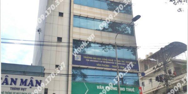 Cao ốc cho thuê văn phòng VI Building Nguyễn Chí Thanh Phường 9 Quận 5 TPHCM - vlook.vn