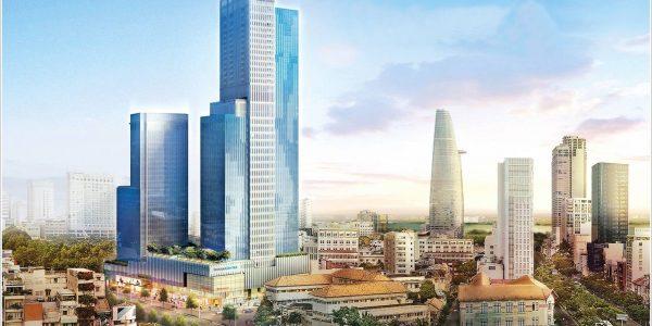 Cao ốc cho thuê văn phòng Saigon Centre Tower 2 Lê Lợi Quận 1 - vlook.vn