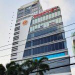 Mặt trước toàn cảnh oà cao ốc văn phòng cho thuê The Galleria Metro 6, đường Xa Lộ Hà Nội, quận 2, TP.HCM - vlook.vn