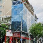 Mặt trước cao ốc cho thuê văn phòng Goodwill Building, Trương Định, Quận 3, TPHCM - vlook.vn