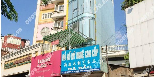 Cao ốc cho thuê văn phòng Luxury Building, Trần Quốc Hoàn, Quận Tân Bình, TPHCM - vlook.vn