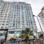 Mặt trước toà cao ốc văn phòng cho thuê Sillland Tower, đường 9A, huyện bình chánh, TP.HCM - vlook.vn