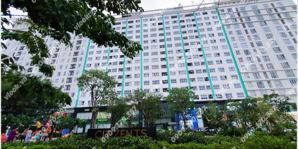 Mặt trước toà cao ốc văn phòng cho thuê citizen ts, đường 9A, huyện Bình Chánh, TP.HCM - vlook.vn