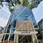 Mặt trước cao ốc cho thuê văn phòng Vinafood Tower, Trần Hưng Đạo, Quận 1, TPHCM - vlook.vn