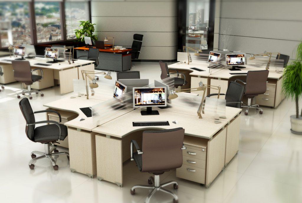 5 điểm cần lưu ý khi bố trí văn phòng
