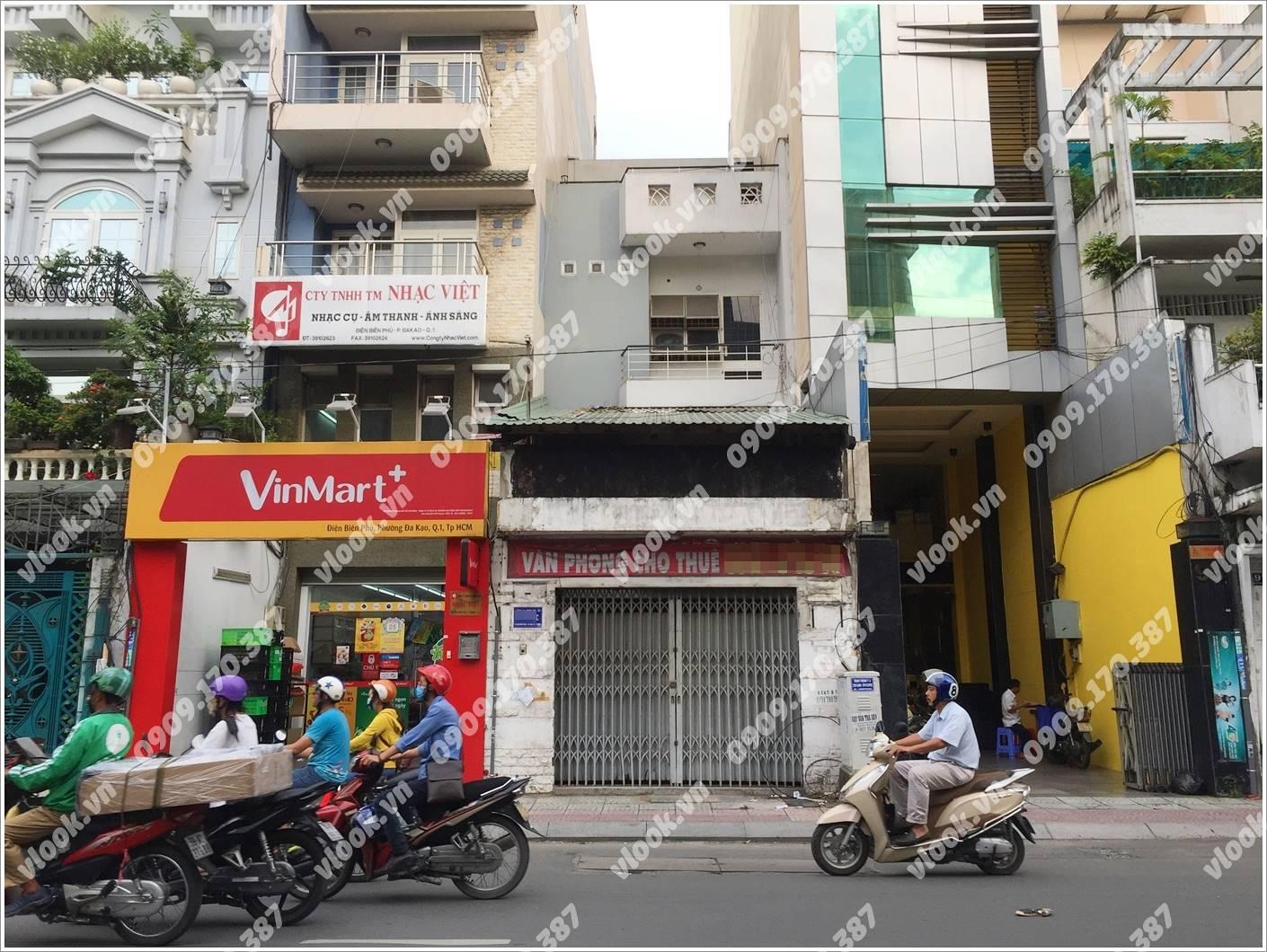 Cao ốc cho thuê văn phòng Building 93, Điện Biên Phủ, Quận 1, TPHCM - vlook.vn