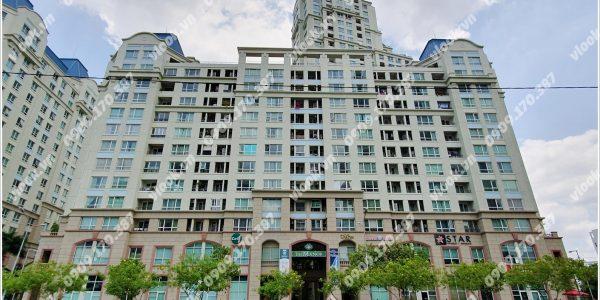Mặt trước cao ốc cho thuê văn phòng The Manor II, Nguyễn Hữu Cảnh, Quận Bình Thạnh, TPHCM - vlook.vn