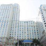 Mặt trước cao ốc cho thuê văn phòng The Manor I, Nguyễn Hữu Cảnh, Quận Bình Thạnh, TPHCM - vlook.vn