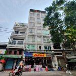 Mặt trước cao ốc cho thuê văn phòng Miti Building, Trần Nhân Tôn, Quận 10, TPHCM - vlook.vn