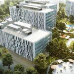 Cao ốc cho thuê văn phòng OneHub Saigon Tower, Đường D1, Quận 9, TPHCM - vlook.vn
