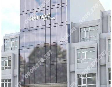 Cao ốc cho thuê văn phòng Sài Nam Building, Trần Văn Dư, Quận Tân Bình, TPHCM - vlook.vn