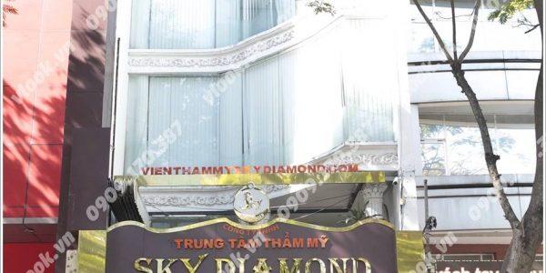 Cao ốc cho thuê văn phòng Sky Diamond Building, Trương Định, Quận 3, TPHCM - vlook.vn
