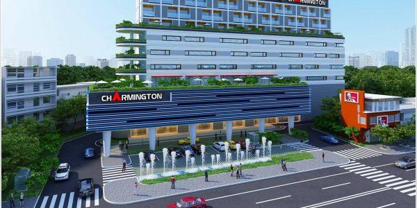 Cao ốc văn phòng cho thuê Sacomreal Plaza, Ung Văn Khiêm, Quận Bình Thạnh, TP.HCM - vlook.vn