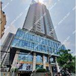 Mặt trước toàn cảnh oà cao ốc văn phòng cho thuê Rivera Park Sài Gòn, đường Thành Thái, quận 10, TP.HCM - vlook.vn