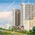 Cao ốc văn phòng cho thuê TNR The Gold View, Bến Vân Đồn, Quận 4, TP.HCM