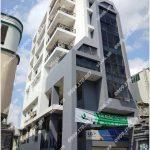 Mặt trước cao ốc cho thuê văn phòng Vi Office Hồ Hảo Hớn, Hồ Hảo Hớn, Quận 1, TPHCM - vlook.vn