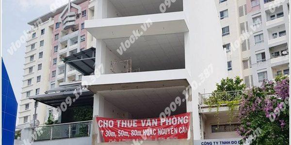 Cao ốc cho thuê văn phòng Hoàng Long Building, Lũy Bán Bích, Quận Tân Phú, TPHCM - vlook.vn