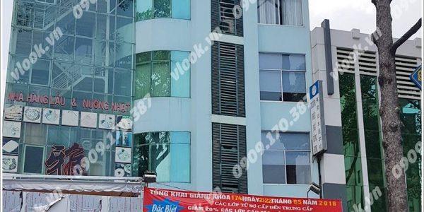 Cao ốc văn phòng cho thuê Nhật Ngữ Đông Kinh Building, Nguyễn Tri Phương, Quận 10, TPHCM - vlook.vn