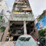 Mặt trước toàn cảnh oà cao ốc văn phòng cho thuê VPMilk Building, đường Nguyễn Thị Thập, quận 7, TP.HCM - vlook.vn