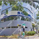 Cao ốc văn phòng cho thuê Saigonbank Building, Hoàng Văn Thái, Quận 7, TPHCM - vlook.vn