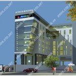 Cao ốc văn phòng cho thuê Attech Building, Trường Sơn, Quận Tân Bình, TPHCM - vlook.vn