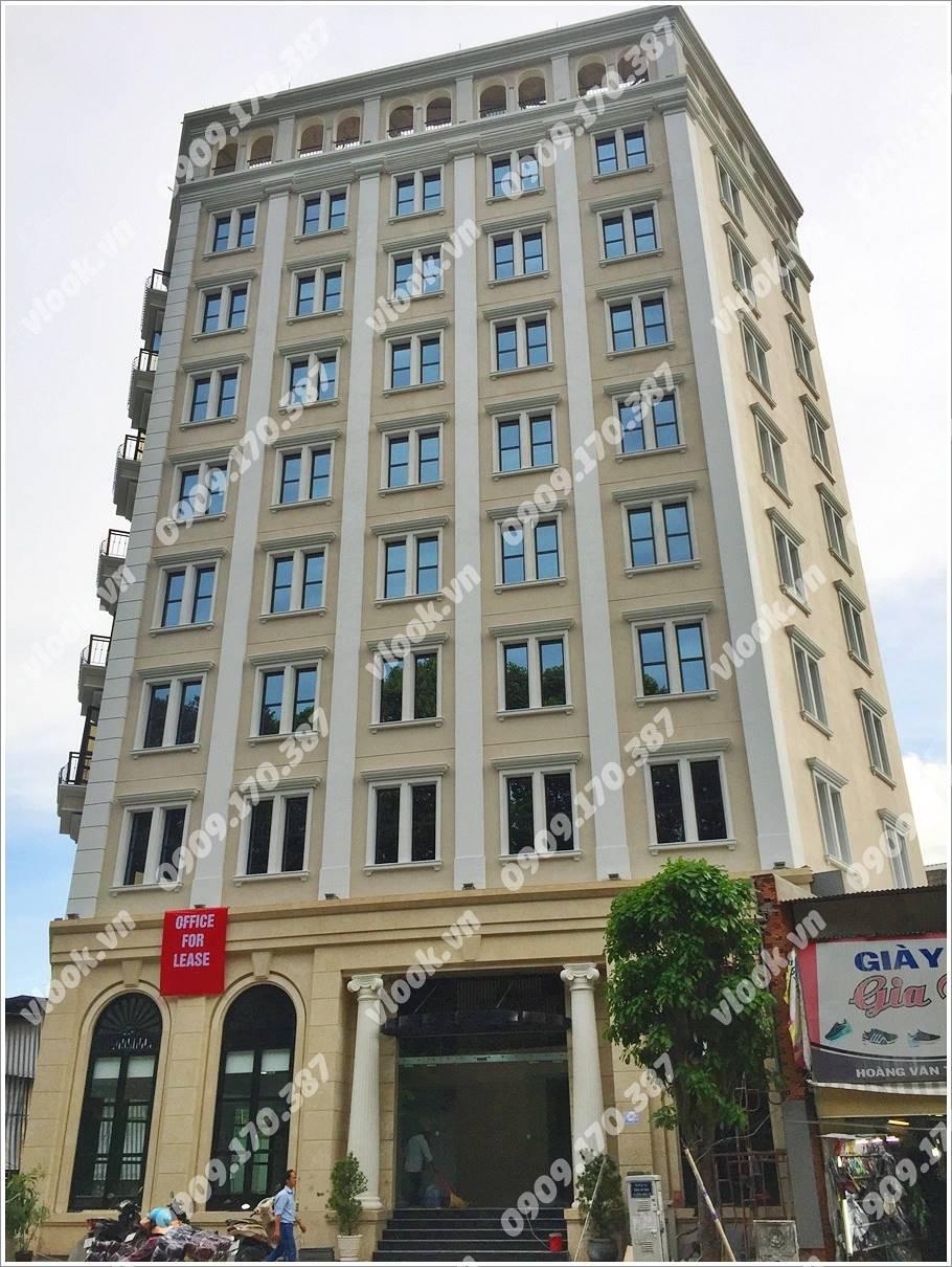 Cao ốc văn phòng cho thuê Nam Việt Building, Hoàng Văn Thụ, Quận Tân Bình - vlook.vn