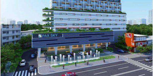 Cao ốc văn phòng cho thuê Pax Sky Ung Văn Khiêm Quận Bình Thạnh - vlook.vn