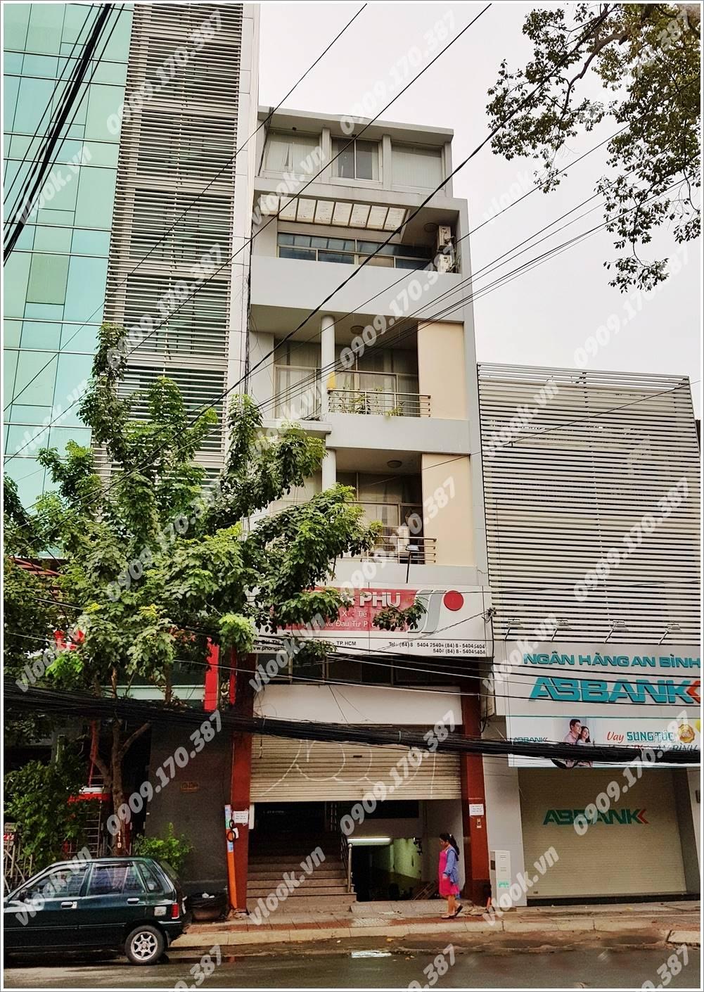 Cao ốc cho thuê văn phòng Phong Phú Building, Bùi Thị Xuân, Quận 1, TPHCM - vlook.vn