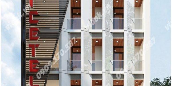 Cao ốc cho thuê văn phòng Dtec Building, Phan Chu Trinh, Quận Tân Phú, TPHCM - vlook.vn