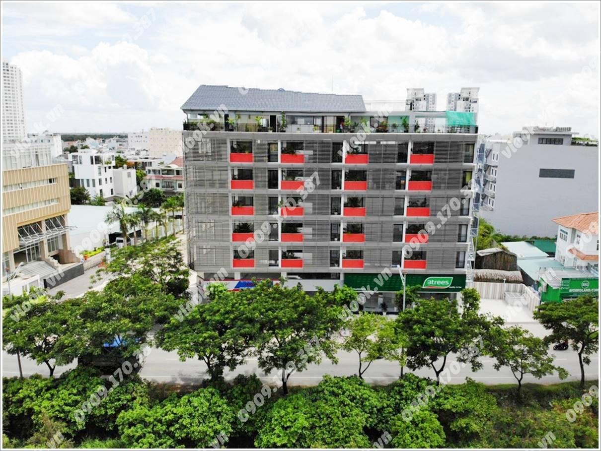 Cao ốc cho thuê văn phòng HKL Building, Nguyễn Hữu Thọ, Huyện Nhà Bè, TPHCM - vlook.vn