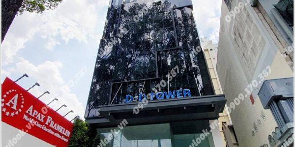 Mặt trước cao ốc cho thuê văn phòng D&D Tower, Võ Văn Tần, Quận 3, TPHCM - vlook.vn