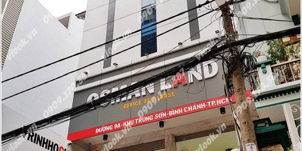 Cao ốc văn phòng cho thuê Osman Land, Đường 9A, Huyện Bình Chánh, TPHCM - vlook.vn