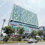 Mặt trước toàn cảnh oà cao ốc văn phòng cho thuê Rebuplic Plaza, đường Cộng Hòa quận Tân Bình, TP.HCM - vlook.vn