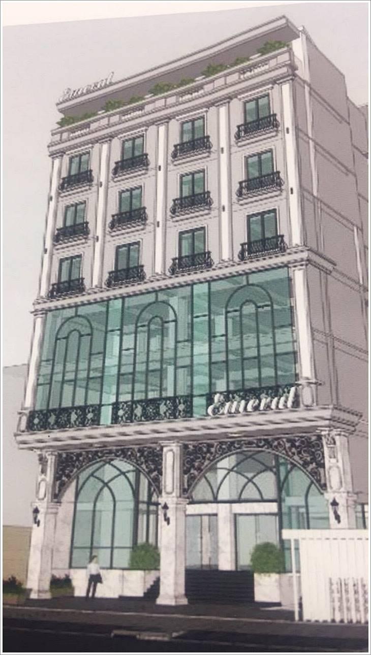 Cao ốc cho thuê văn phòng Emerald Building, Huỳnh Tịnh Của, Quận 3, TPHCM - vlook.vn