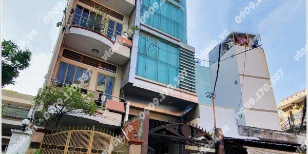 Mặt trước toàn cảnh oà cao ốc văn phòng cho thuê ACE Building, đường Tô Hiến Thành quận 10, TP.HCM - vlook.vn