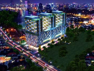 Cao ốc cho thuê văn phòng Charmington La Pointe, Cao Thắng, Quận 10, TPHCM - vlook.vn
