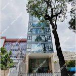 Mặt trước cao ốc cho thuê văn phòng Chubb tower 2 Nguyễn Trãi, Nguyễn Trãi, Quận 1, TPHCM - vlook.vn