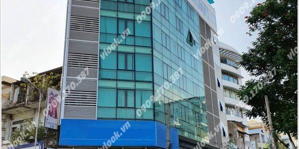 Cao ốc cho thuê văn phòng Galaxy Tower, Trần Hưng Đạo, Quận 5, TPHCM - vlook.vn