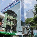 Mặt trước cao ốc cho thuê văn phòng Global Building, Đường A4, Quận Tân Bình, TPHCM - vlook.vn