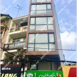 Mặt trước cao ốc cho thuê văn phòng Lavi Building, Hồ Bá Kiện, Quận 10, TPHCM - vlook.vn