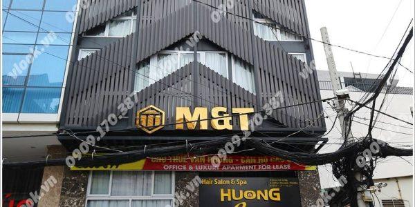 Mặt trước cao ốc cho thuê văn phòng M&T Building, Nguyễn Hữu Cảnh, Quận Bình Thạnh, TPHCM - vlook.vn