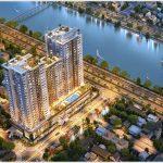 Cao ốc cho thuê văn phòng Viva Riverside, Võ Văn Kiệt, Quận 6, TPHCM - vlook.vn