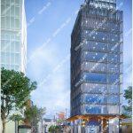 Mặt trước cao ốc cho thuê văn phòng Anh Minh Tower, Nguyễn Đình Chiểu, Quận 1, TPHCM - vlook.vn