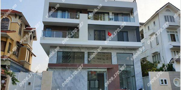 Mặt trước cao ốc cho thuê văn phòng Building IV, Đường số 66, Quận 2, TPHCM - vlook.vn
