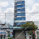 Mặt trước cao ốc cho thuê văn phòng Eximland Building, Cách Mạng Tháng Tám, Quận 3, TPHCM - vlook.vn