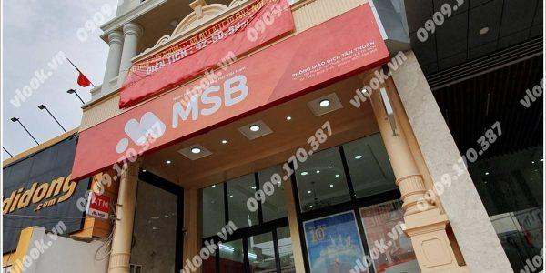 Cao ốc cho thuê văn phòng MSB Building, Huỳnh Tấn Phát, Quận 7, TPHCM - vlook.vn