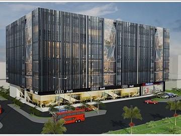 Cao ốc cho thuê văn phòng Thanh Thy Tower, Nguyễn Văn Linh, Quận 7, TPHCM - vlook.vn