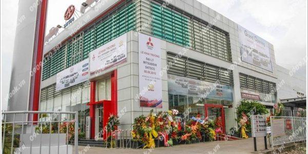 Cao ốc văn phòng cho thuê văn phòng Satsco Building, Hồng Hà, Quận Tân Bình TP.HCM - vlook.vn