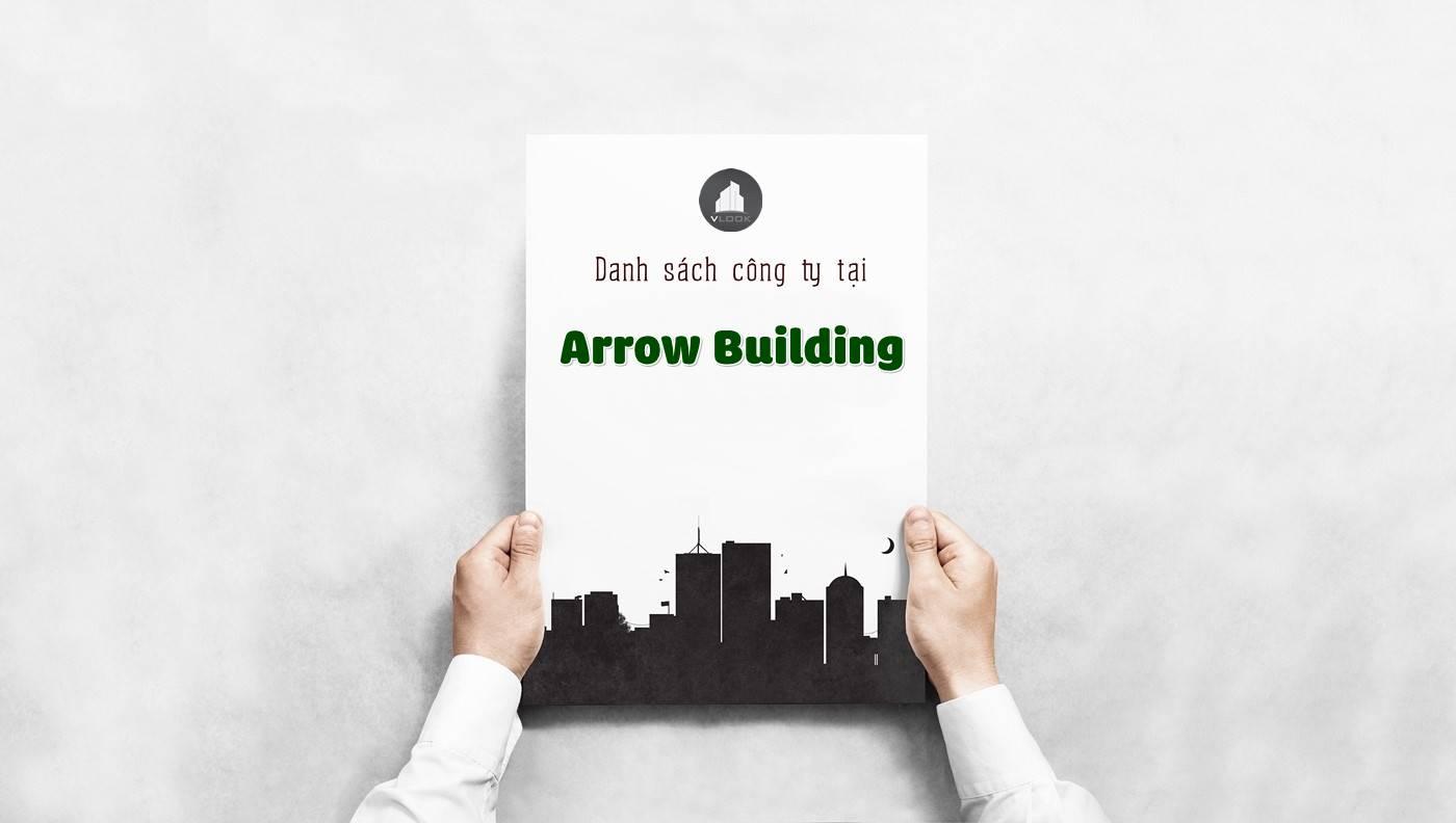 Danh sách các công ty đang thuê văn phòng tại Arrow Building, Hoàng Việt, Quận Tân Bình vlook.vn