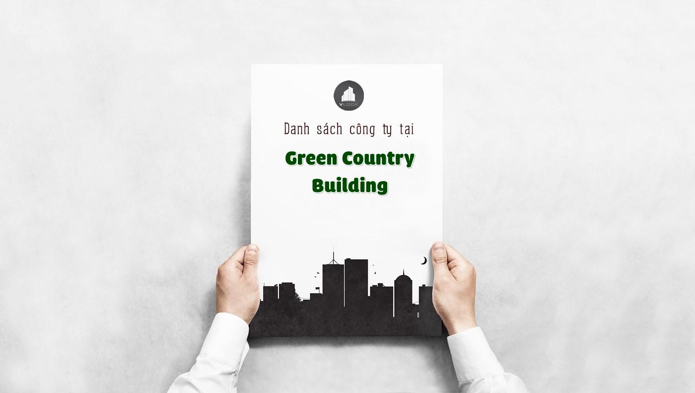 Danh sách các công ty đang thuê văn phòng tại Green Country Building, Nguyễn Thị Thập, Quận 7 vlook.vn